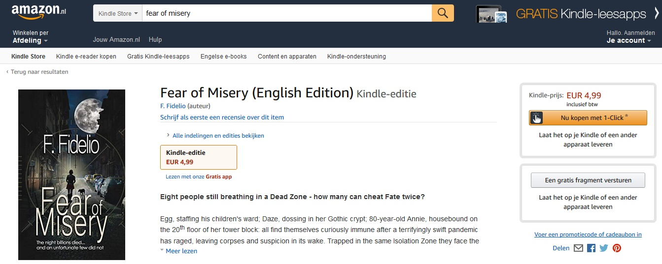 Fear of Misery Published!